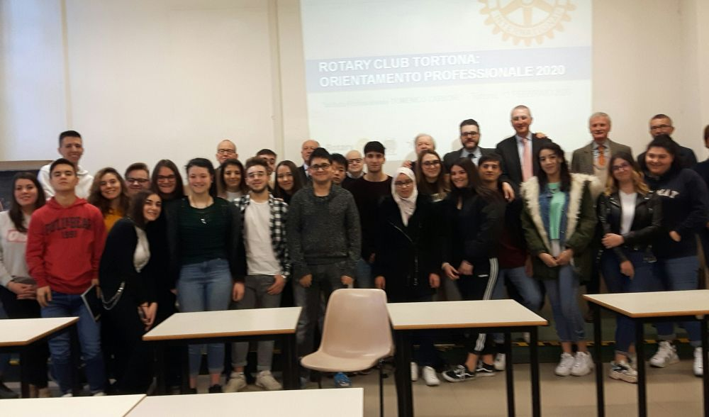 Ancora una volta il Rotary Club Tortona  e il Marconi insieme per iniziative di formazione e cittadinanza