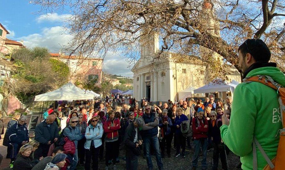 """""""Sui sentieri del Golfo""""a San Bartolomeo, in 105 per il Trekking della Candelora"""