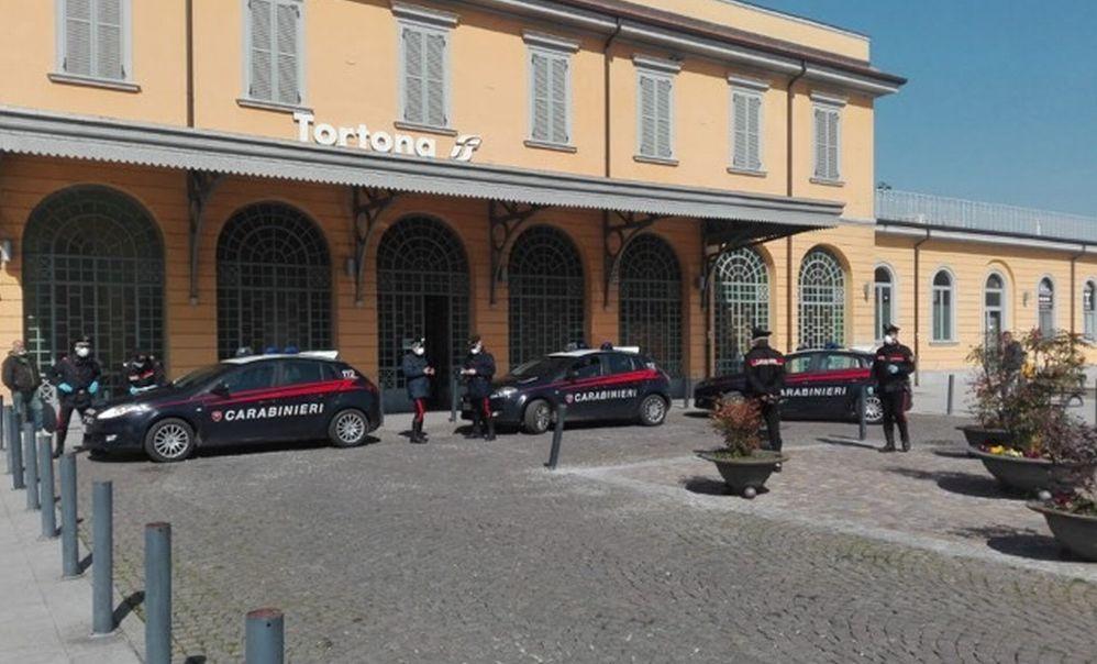 85 persone denunciate dai Carabinieri di Tortona perché sorpresi in giro senza motivo