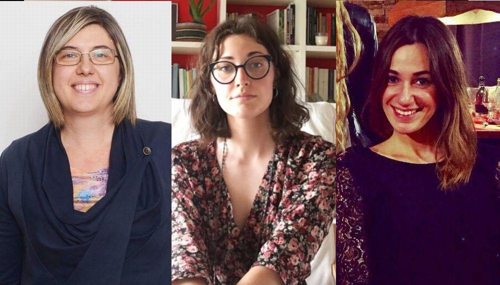 """Alla Residenza """"Lisino"""" di Tortona i malati in isolamento riescono a parlare coi loro cari grazie a queste tre piscologhe"""