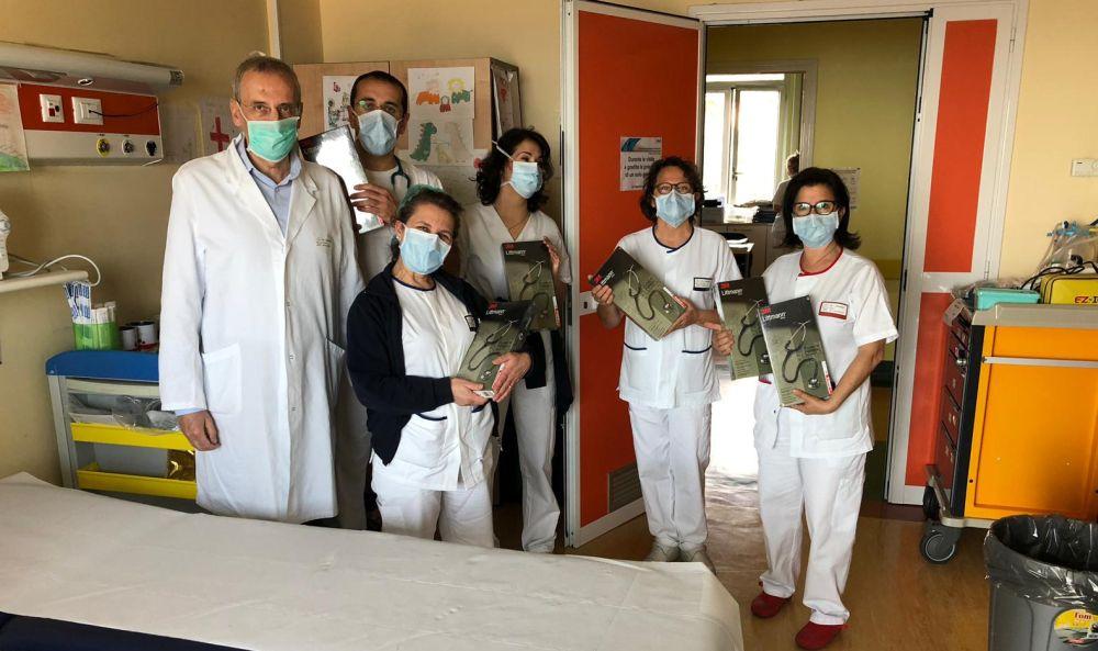 """L'associazione """"Piccoli Passi"""" di Imperia contro il Coronavirus"""