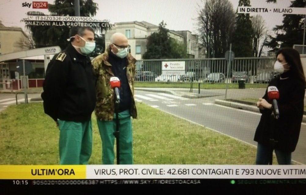 Coronavirus, nella vicina Lombardia stanno già scegliendo chi far vivere e chi far morire. Il servizio a Sky