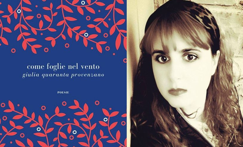"""Va alle stampe in questo difficile periodo la Silloge poetica """"Come foglie nel vento"""" della dianese Giulia Quaranta Provenzano"""