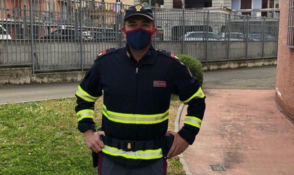 A Tortona le forze dell'ordine hanno mascherine personalizzate gratis grazie all'azienda di Claudia Gasperin