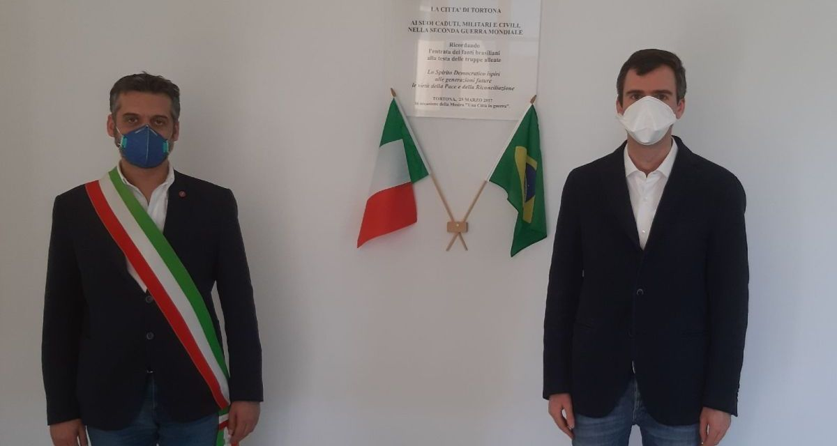 Il Comune di Tortona ha ricordato la liberazione della città ad opera delle truppe Brasiliane