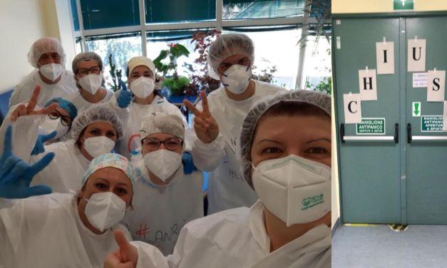 Finalmente chiuso un reparto Covid a Tortona, l'ospedale inizia una nuova vita