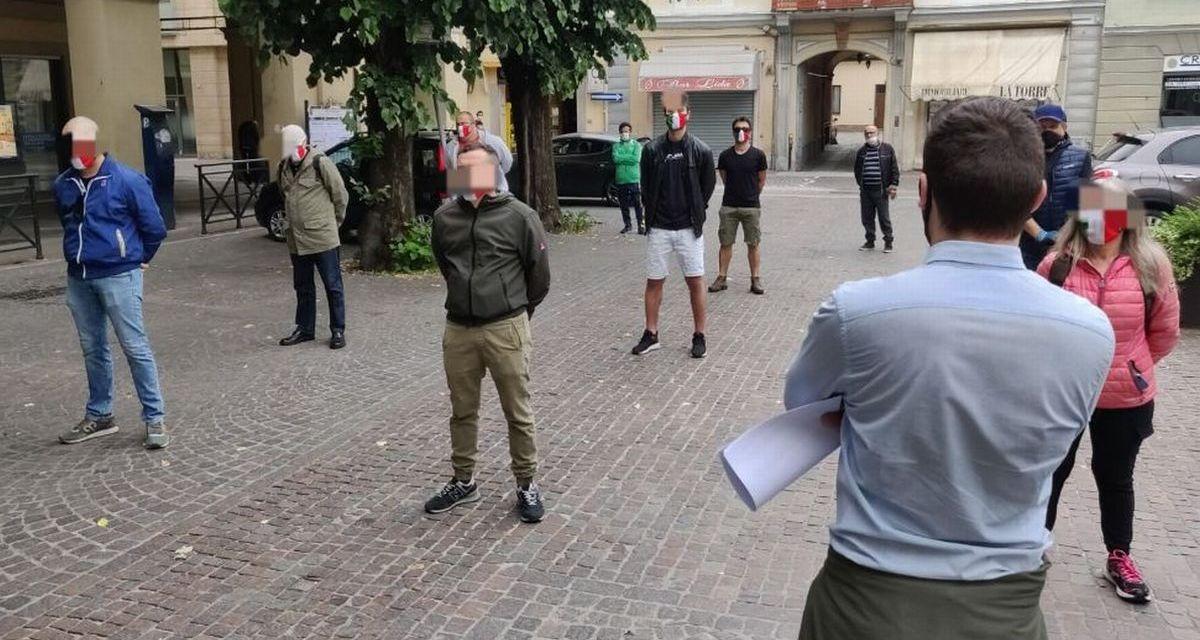 """A Tortona le 'Marcherine tricolori' di nuovo in piazza: """"Tante aziende rischiano di scomparire, servono interventi"""""""
