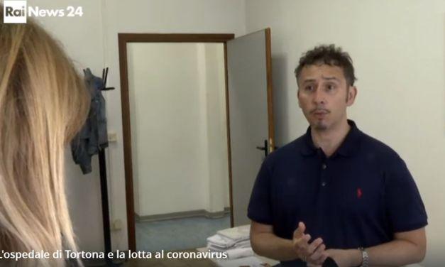 La Rai intervista Moreno Maraffa, infermiere dell'ospedale di Tortona guarito dal Covid-19 dopo 48 giorni