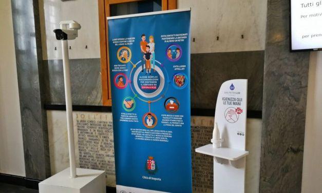Imperia, attiva telecamera termografica all'ingresso del Comune