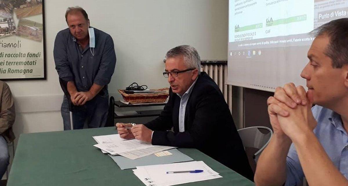 L'assessore regionale in Cia per il comparto vitivinicolo