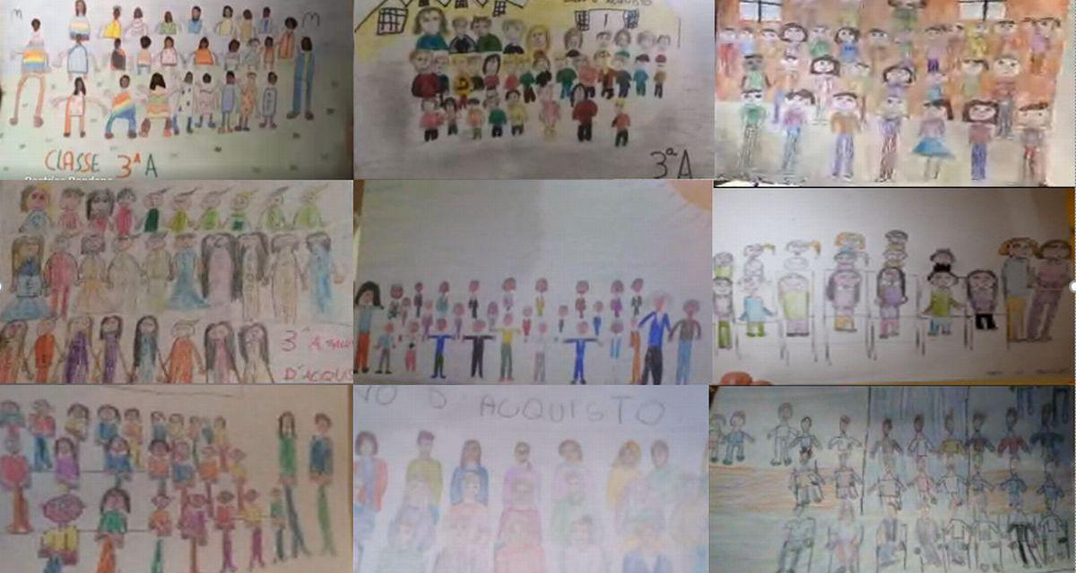 I bambini della terza A di Tortona raccontano la Didattica a distanza nei disegni