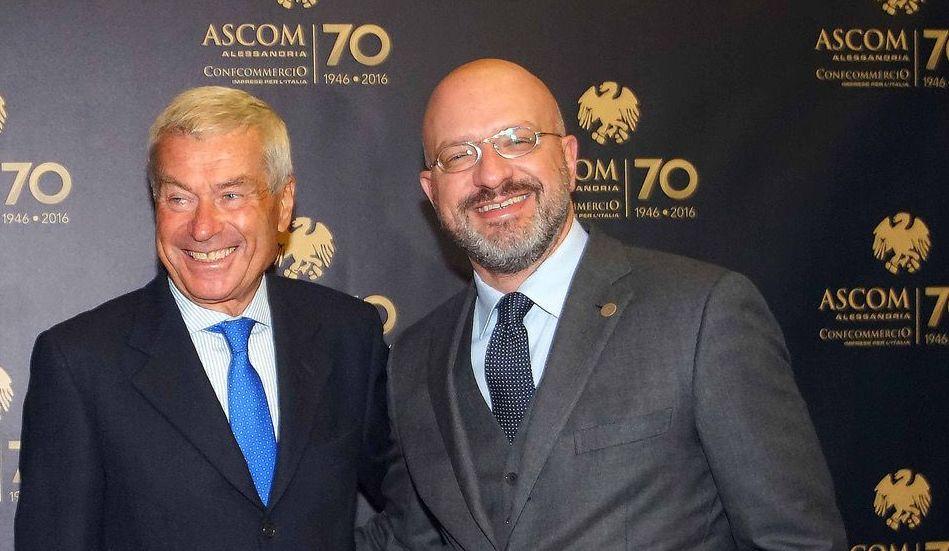Il presidente provinciale Confcommercio Alessandria Vittorio Ferrari eletto nel Consiglio nazionale di Confcommercio Imprese per l'Italia