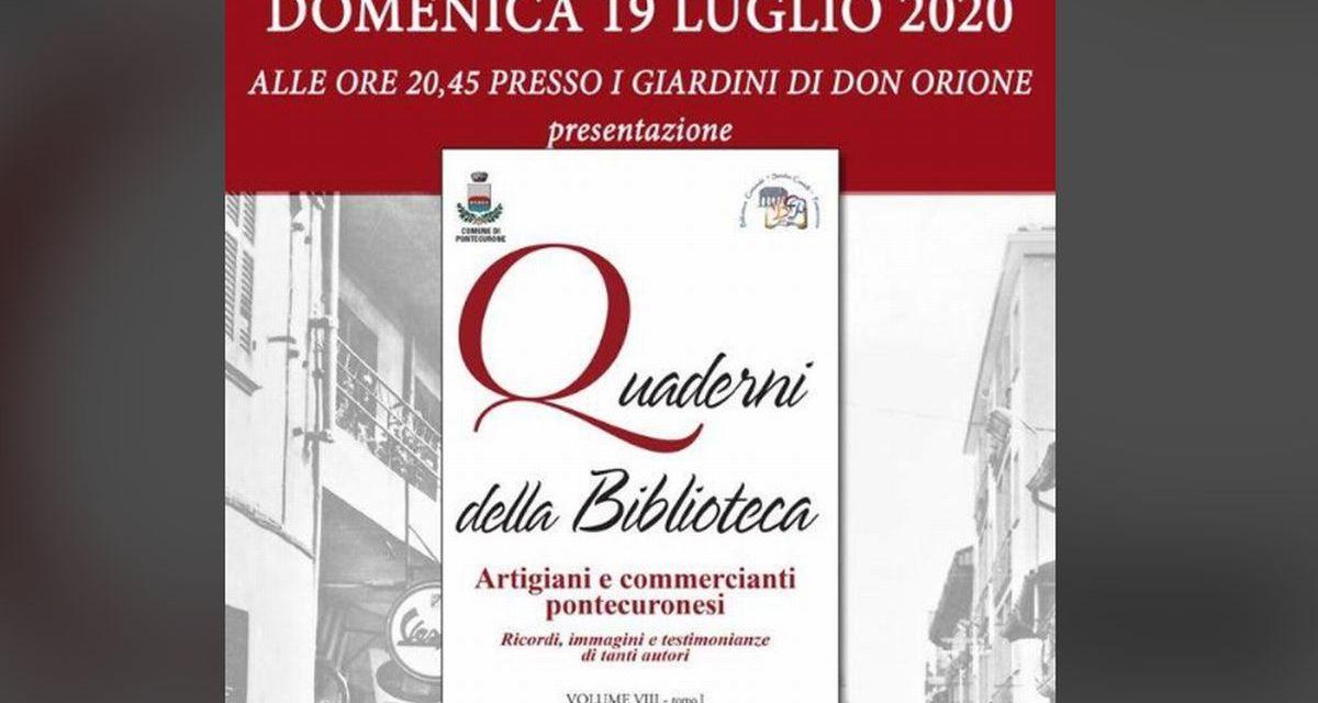 Domenica a Pontecurone c'è il Dopocena letterario: si presenta l'ottavo Quaderno della Biblioteca