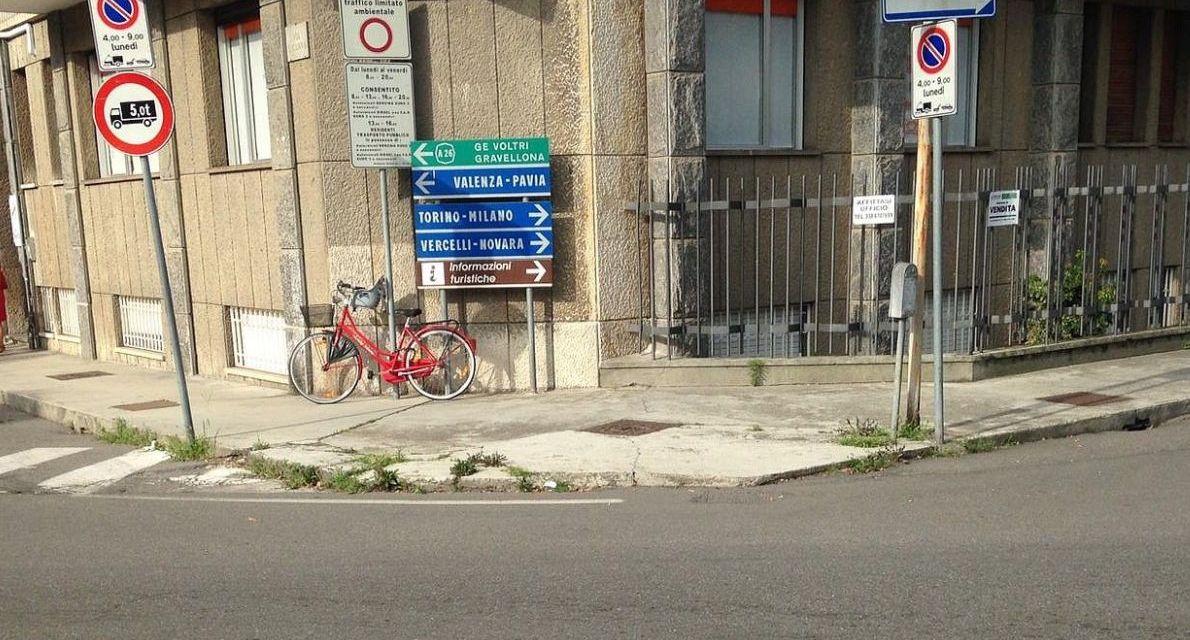 Abbattimento barriere architettoniche: proseguono gli interventi sui marciapiedi a Casale MOnferrato