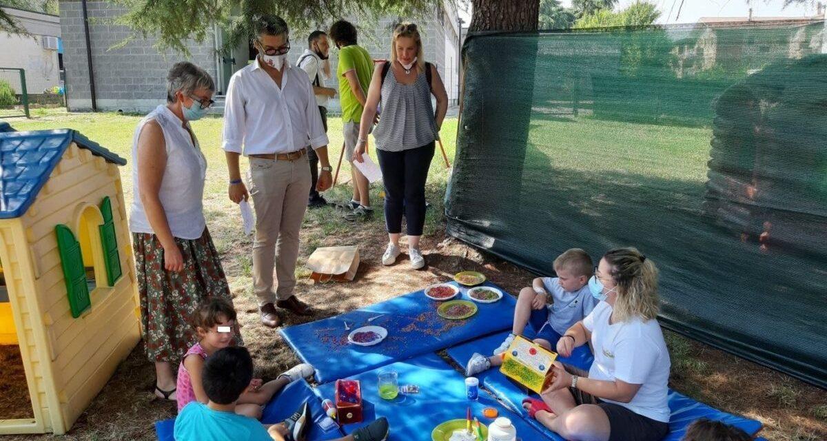 Il Comune di Tortona visita i Centri estivi per controllare che sia tutto Ok. Le immagini