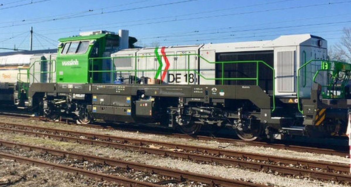 A Rivalta Scrivia arrivano due locomotive innovative e ambientali