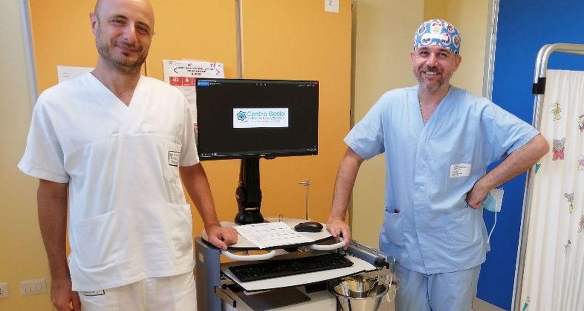 La Fondazione Uspidalet dona un manometro per l'Ospedale Infantile di Alessandria
