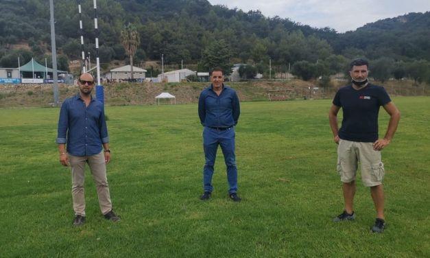 """Imperia: nuovo volto per il campo da rugby """"Pino Valle"""""""