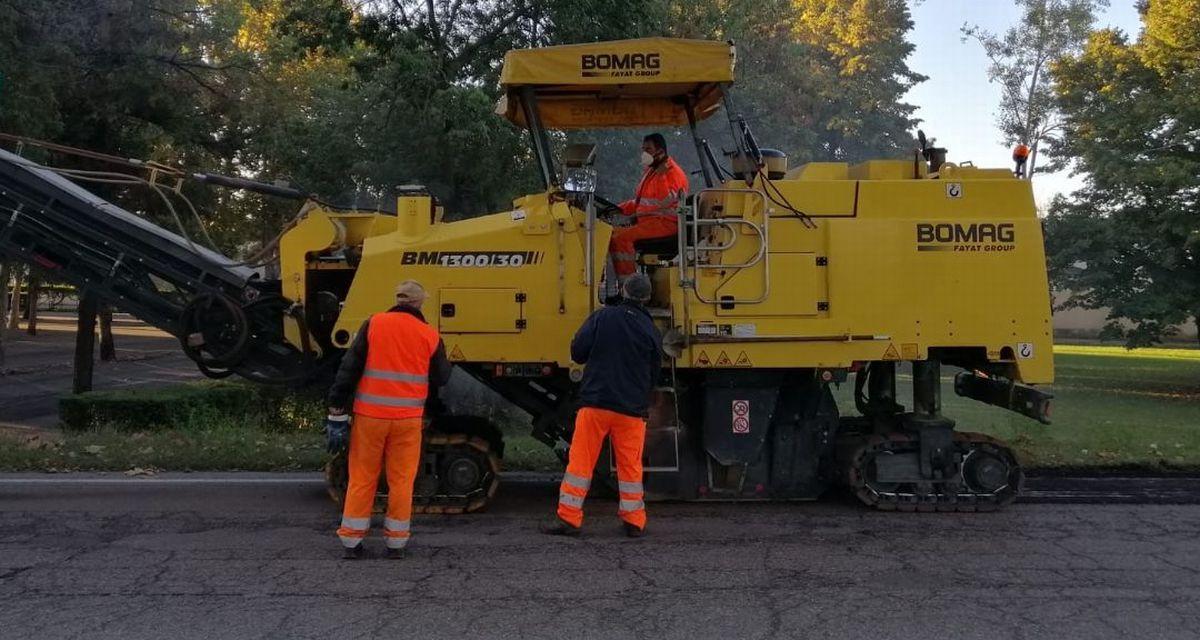 Iniziati i lavori di riasfaltatura in altre sei strade della Città di Casale Monferrato