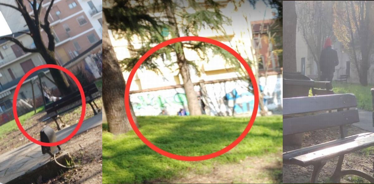 A Tortona si spaccia in questo parco giochi? Il racconto di un lettore avvicinato in pieno giorno. I controlli dei Carabinieri