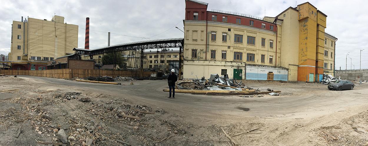 Amnagement De LUsine Roshen Kiev Ukraine