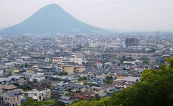 Château de Marugame - Sanuki Fuji - Mont Iino