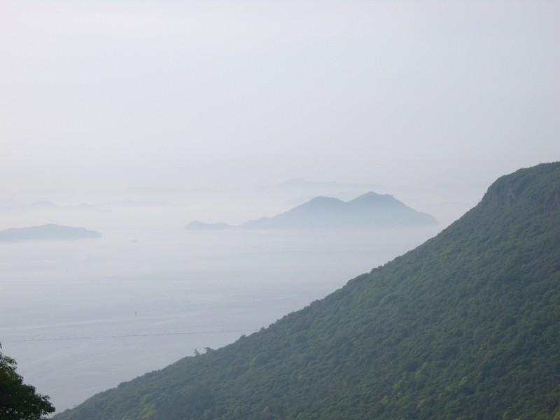 Ogijima vue depuis Yashima