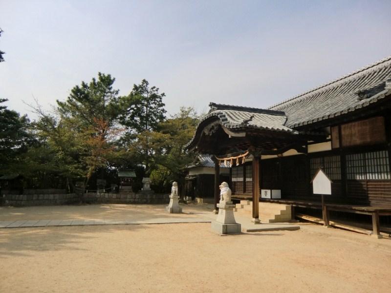 Sanctuaire Shinto à Honmura sur Shikoku