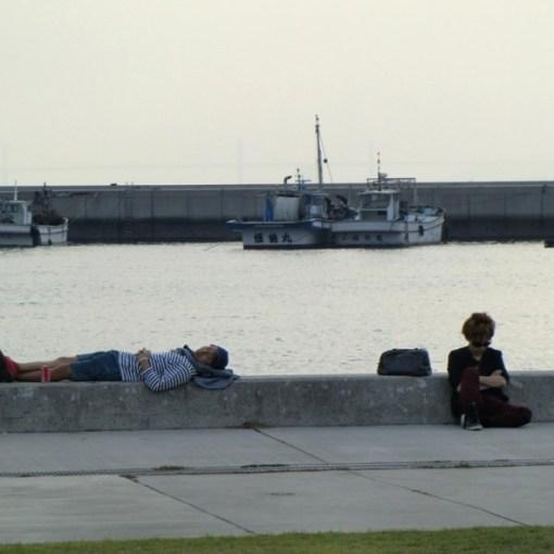 Au port de Miyanoura sur Naoshima
