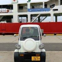 Très petite voiture japonaise