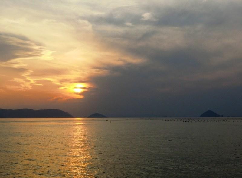 Coucher de Soleil sur la Mer de Seto