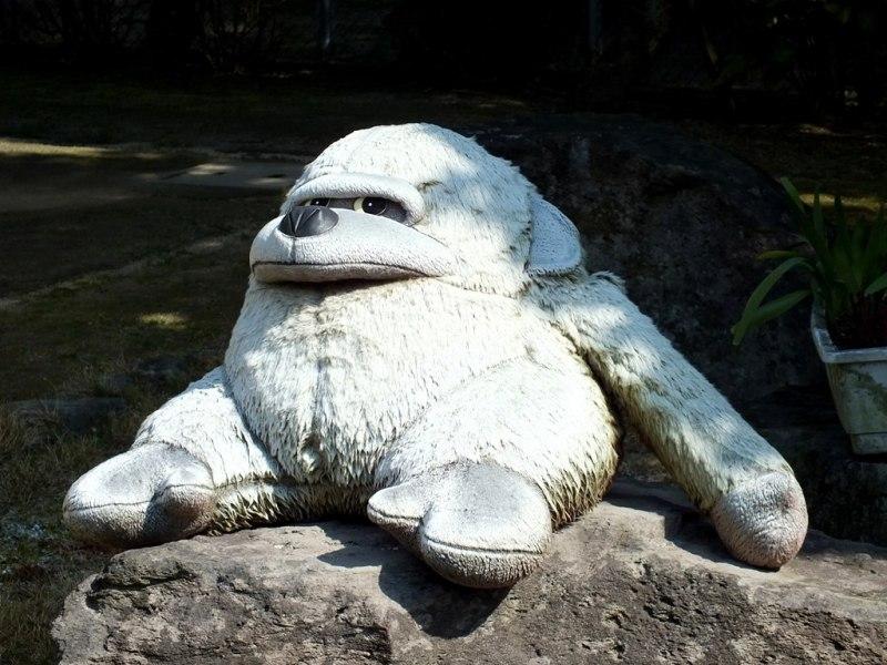 Gorille blanc sur Shamijima