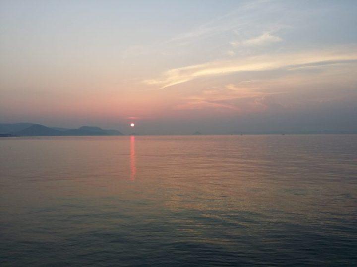 Coucher de Soleil au Sunport de Takamatsu