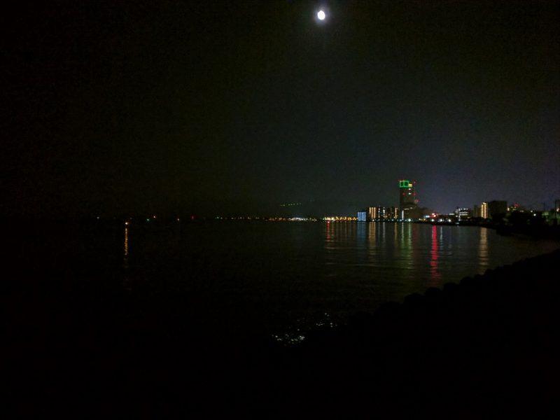 Photo du Sunport de Takamatsu de nuit