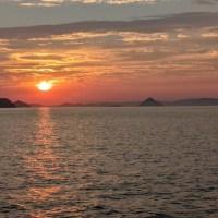 Coucher de soleil du solstice d'été 2021