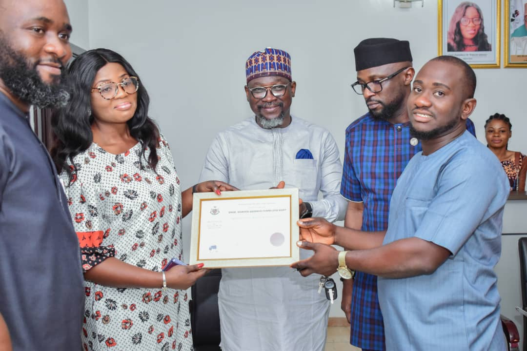 Institute Of Management Specialists (UK) Awards Engr. Dr. (Mrs.) Funmilayo Waheed-Adekojo