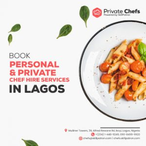 """Jake Adebayo's SkillPatron Launches an """"on-demand' Personal & Private Chef For Hire Service in Africa"""