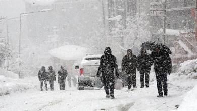 Photo of Meteoroloji'den 5 il için kar yağışı uyarısı
