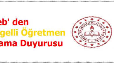 Photo of Meb' den Engelli Öğretmen Atama Duyurusu