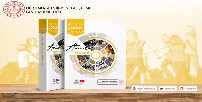 MEB' den Anadolu Çocuk Oyunları Kitabı