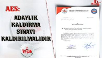 Photo of Adaylık Kaldırma Sınavı Kaldırılmalıdır