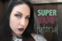 Super Vamp Tutorial - Pantone's Color of the Year, Marsala