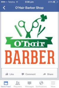Ohair Barber Nundah on Facebook