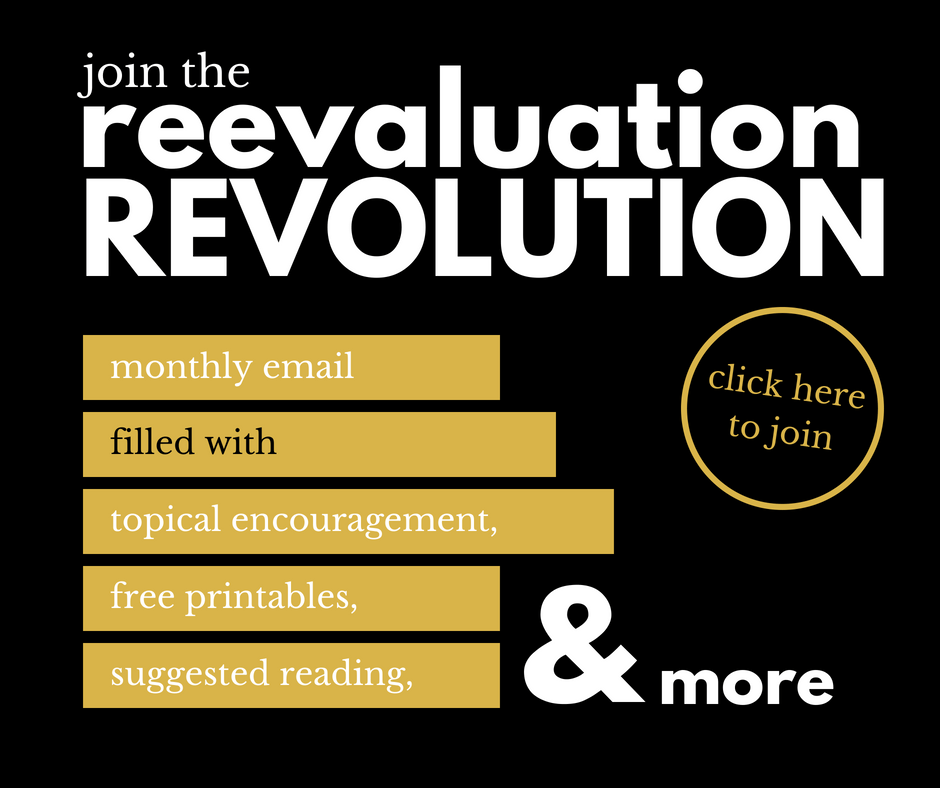 the reevaluation revolution
