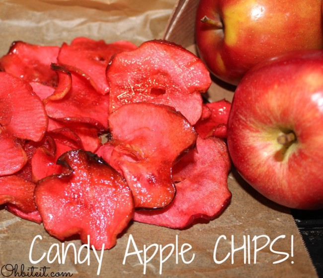 Candy Apple Chips - Oh Bite It