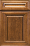 This is a picture of 4U Macchiato Maple cabinet door.