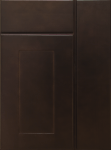 This is a picture of G Beech Espresso cabinet door.