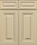 This is a picture of JK Creme Maple cabinet door.