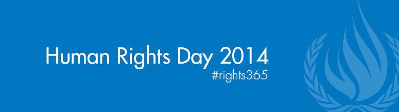 Logo Human Rights Day 2014: Human rights 365