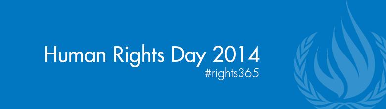 Logo Human Rights Day 2014: Human rights 365